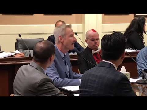 AB 2943 CA Assembly Judiciary Committee hearing