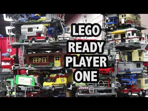 Awesome Ready Player One Stacks in LEGO