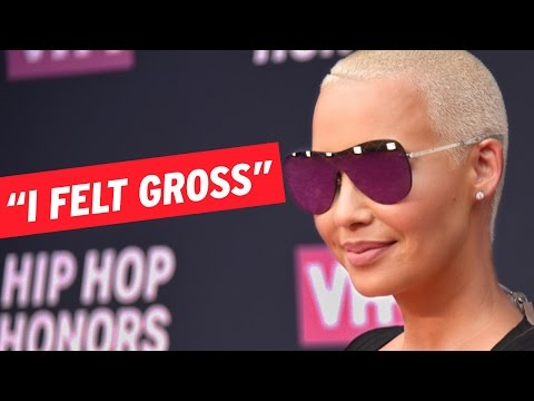 Amber Rose Confesses to Having Her First and Last Threesome: 'I Felt Gross'