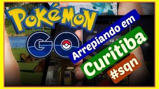 Pokemon Go arrepiando em Curitiba #sqn