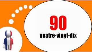 Fransk for Dansk = Tæl fra 10 til 100