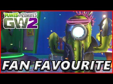 Fan Favourite #6 Future Cactus - Plants vs Zombies Garden Warfare 2