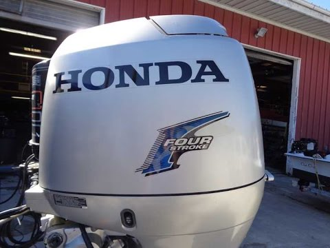 6m3677 used 2006 honda bf90a6rta 90hp 4 stroke outboard for Honda outboard motors for sale used
