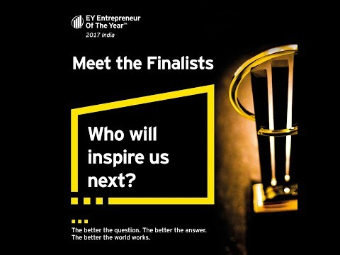 EOY 2017 Award Finalist - Sumant Sinha,  Founder Chairman & CEO, ReNew Power Ventures