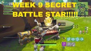 Fortnite WEEK 9 Secret Battle Location ! *FIND THE SECRET BATTLESTAR* WEEK 9 SEASON 6
