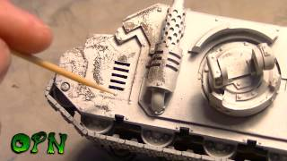 How to Paint a  weathered tank
