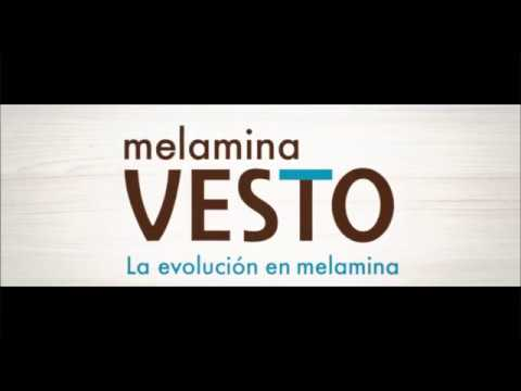 Melamina VESTO única con cobre antimicrobiano