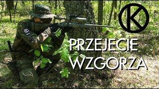 Airsoft Sniper Gameplay - PRZEJĘCIE WZGÓRZA - Kaczmysz