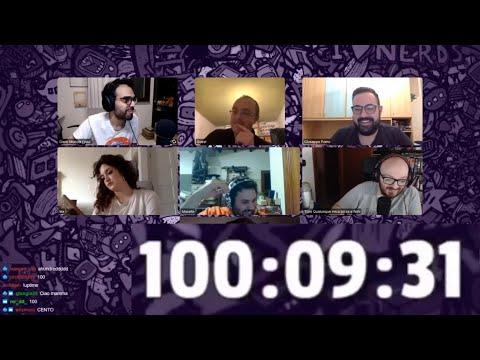 Dario Moccia Twitch - Il Timer Della Maratona Raggiunge 100 Ore (Dario Disperato)