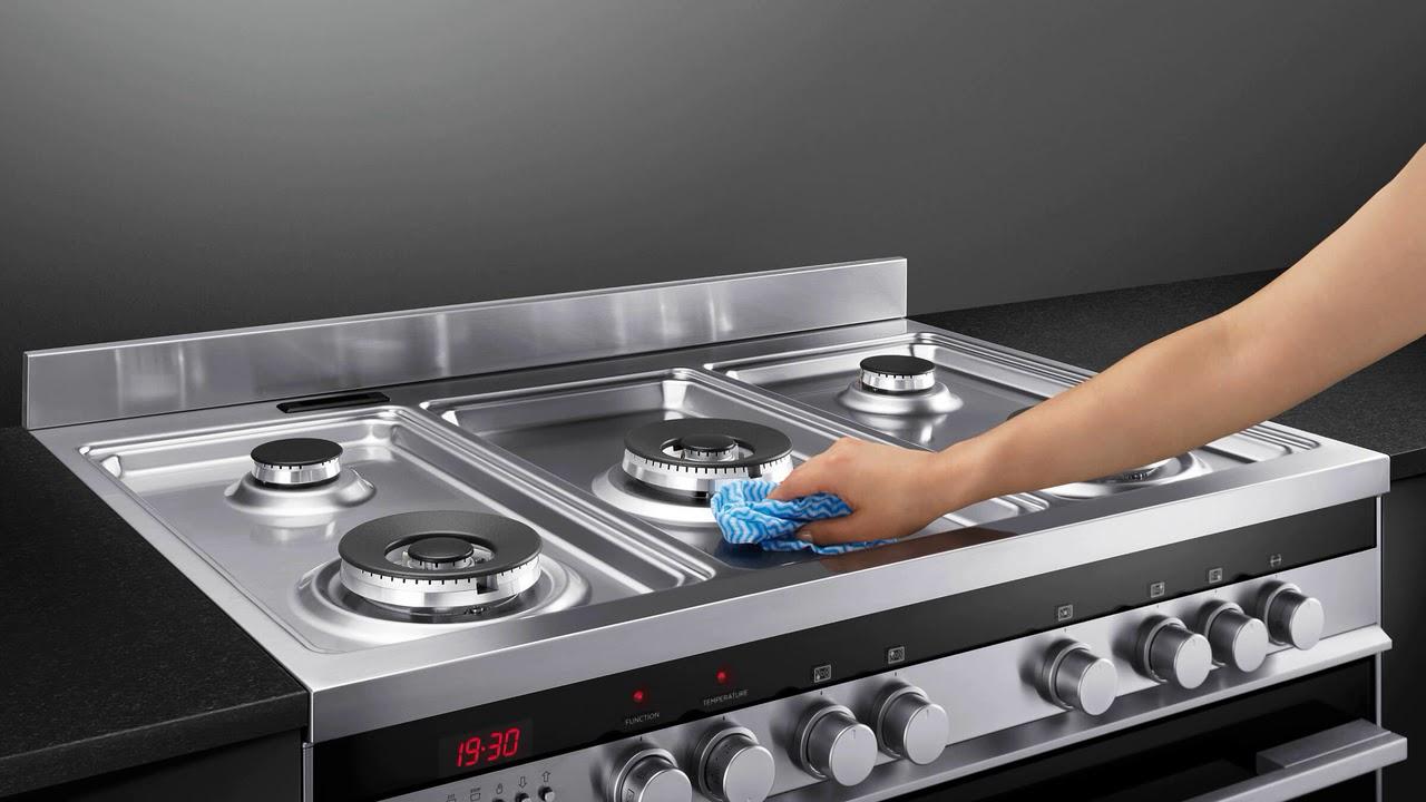 Как быстро отмыть плиту от жира в домашних условиях 62