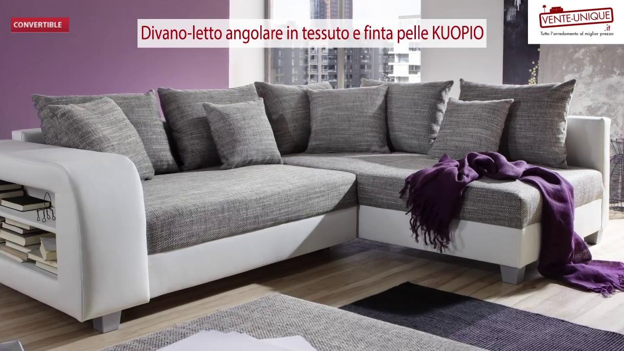 Divano Letto Angolare In Pelle Best Divani Letto Piccole