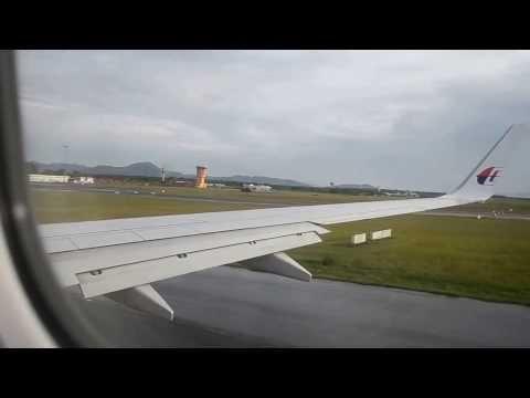 Landing at Tawau Airport