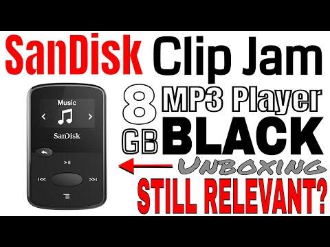 SANDISK Clip Jam 8 GB MP3 Player (Black) Unboxing: Is it still Relevant?