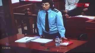 Эмоциональное выступление гособвинителя на прениях по делу банды Федоровича