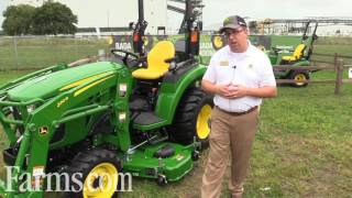 New John Deere 2032R and 2038R Compact Tractors Introduced