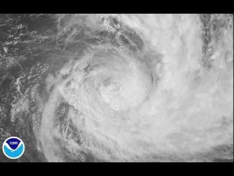 Tropical Cyclone Vania heading for Loyalty Islands