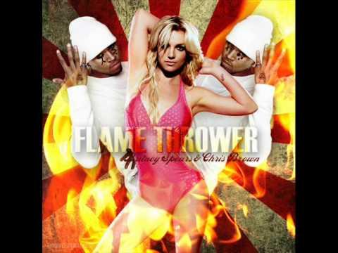 Britney Spears -Flamethrower demo (by chris brown)