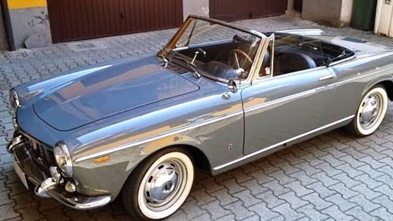 fiat 1500 cabriolet pininfarina model year 1963 youtube. Black Bedroom Furniture Sets. Home Design Ideas