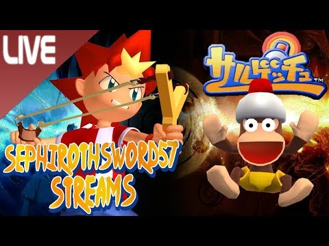 Sephirothsword57 Streams - Saru! Get You! (Ape Escape) - Swordling Stream!