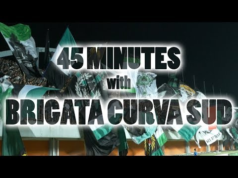 45 MINUTES CHANTING with BRIGATA CURVA SUD - Ultras Sleman