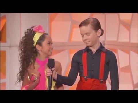 Yasha & Daniela.Interview The Queen Latifah Show. Cha cha cha