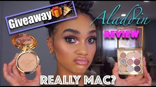 MAC x ALADDIN REVIEW/Youtube GIVEAWAY🎉| STRASHME
