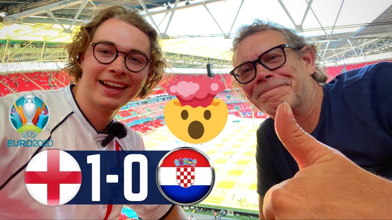 I WENT TO EURO 2020! | England vs Croatia, Kebab Hunting, & SHOCKING Ending