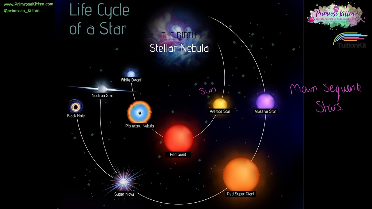Life cycle of a star - YouTube - photo#6