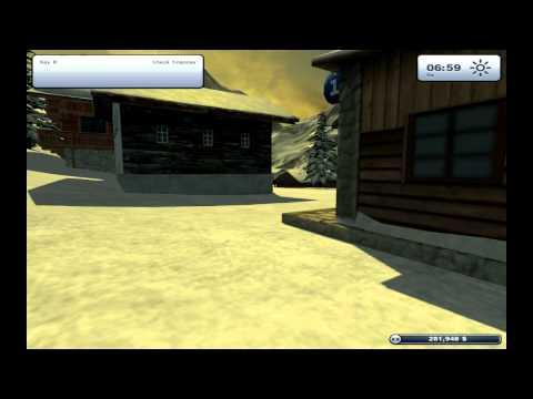 Lets Play Ski Region Simulator 2012 - Ep 001