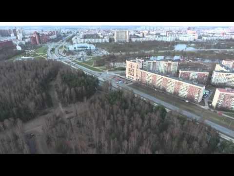 Воздух - Панорама парка «Сосновка»
