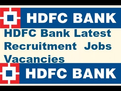 Jobs In Hdfc Bank Youtube