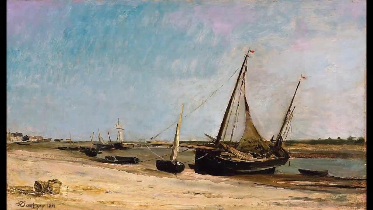 Peintures de charles fran ois daubigny peintre fran ais for Barbizon peintre