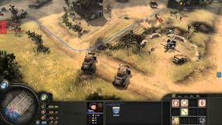 Company Of Heroes Opposing Fronts Gameplay Operation Market Garden Mission 1 Part 1 [HD]