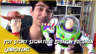 Toy Story Buzz Lightyear & Woody SIGNATURE EDITION [Unboxing | Deutsch]