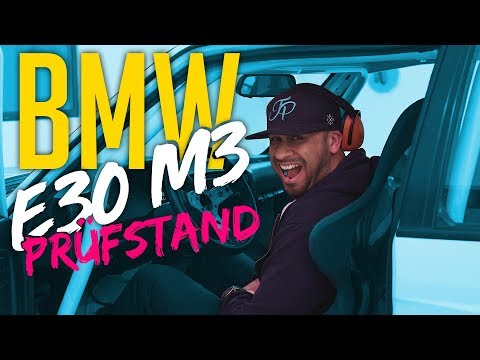 JP Performance - BMW E30 M3 | Prüfstandslauf