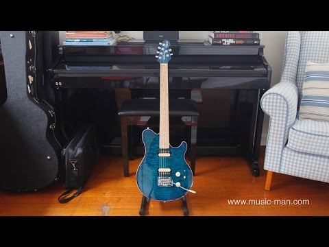 Ernie Ball Music Man Axis Super Sport  - General Demo