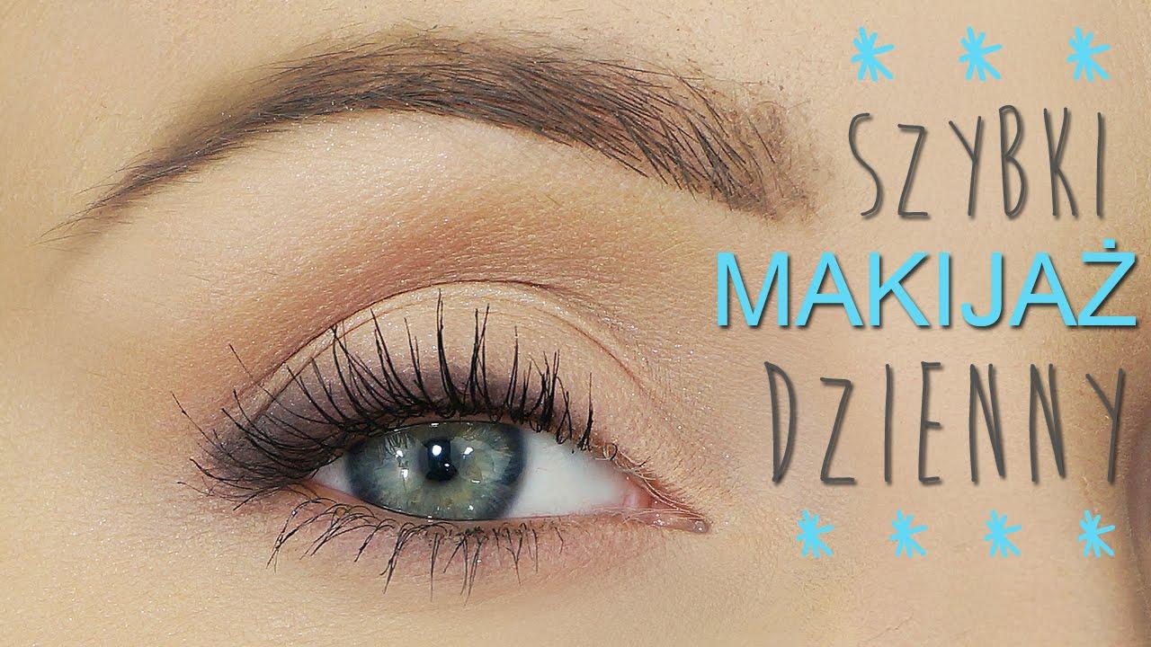 Szybki Makijaż Oczu Mój Makijaż Dzienny Youtube