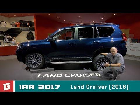 TOYOTA Land Cruiser - IAA Frankfurt 2017- GARAZ.TV