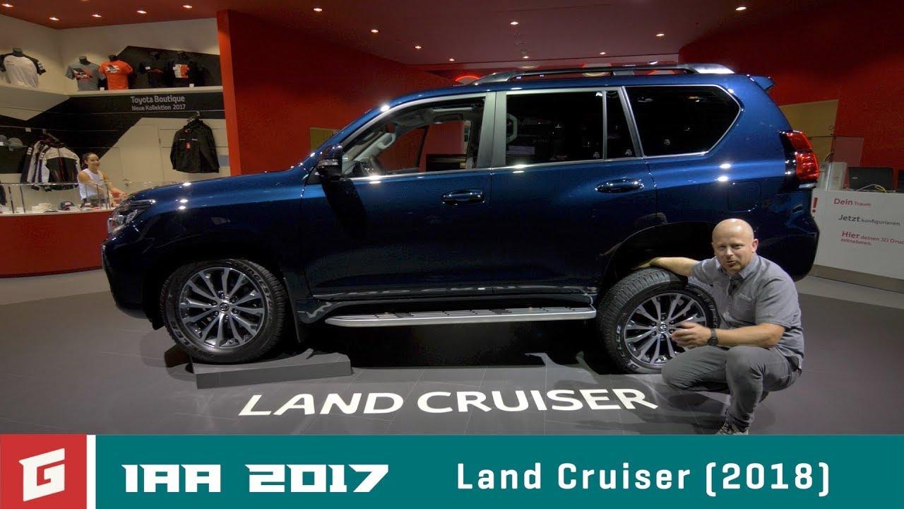 TOYOTA Land Cruiser - IAA Frankfurt 2017- GARAZ.TV - YouTube