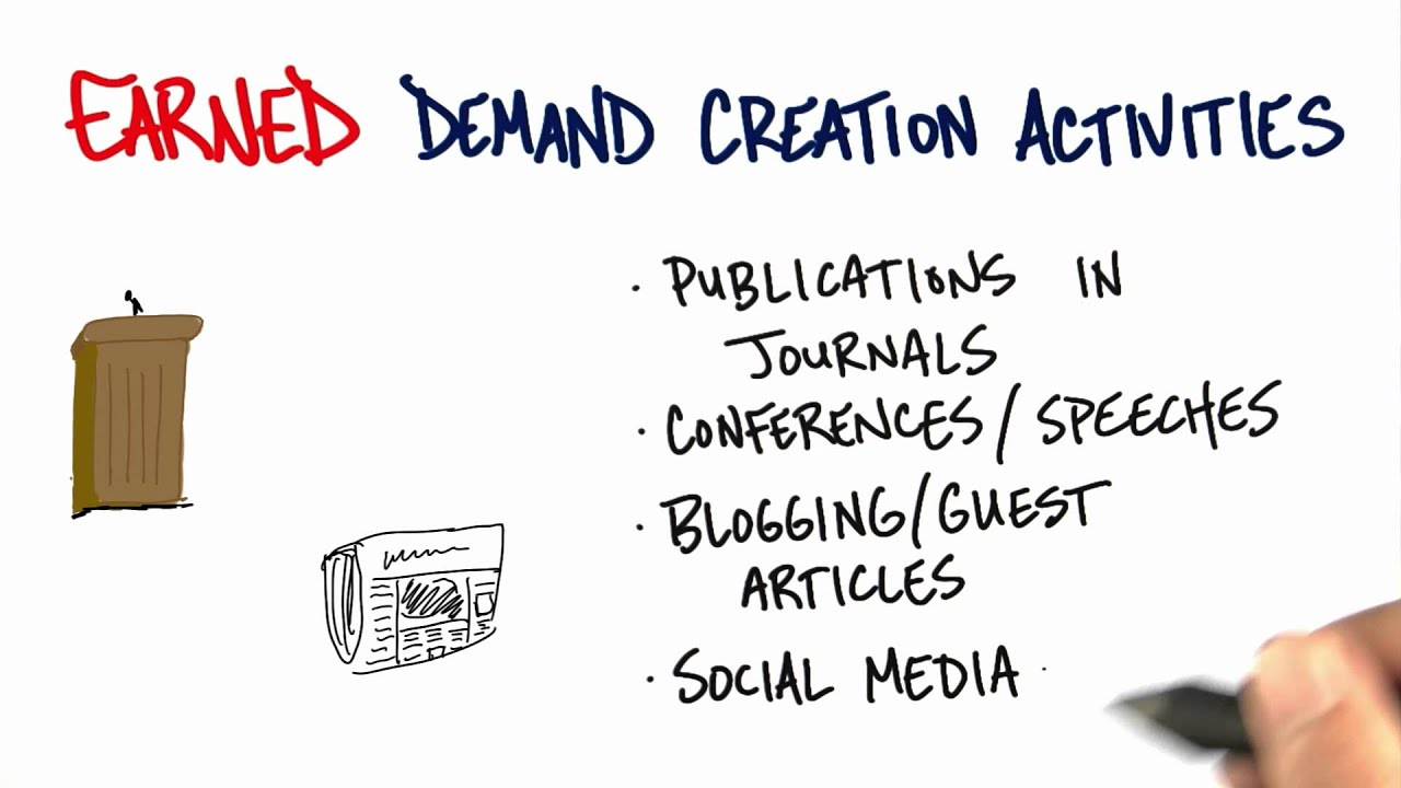 Earned Demand Creation - How to Build a Startup