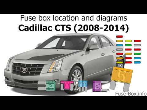Fuse box location and diagrams Cadillac CTS (2008-2014) - YouTube