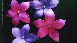 FOAM SHEET CRAFT/HOW TO MAKE FOAM FLOWERS/EASY LOW  COST FLOWERS/HOME DECOR