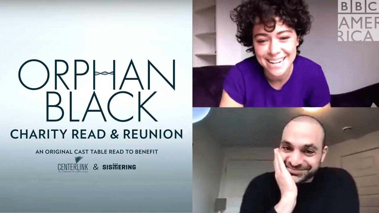 Download Orphan Black Charity Read & Reunion 2020 | BBC America