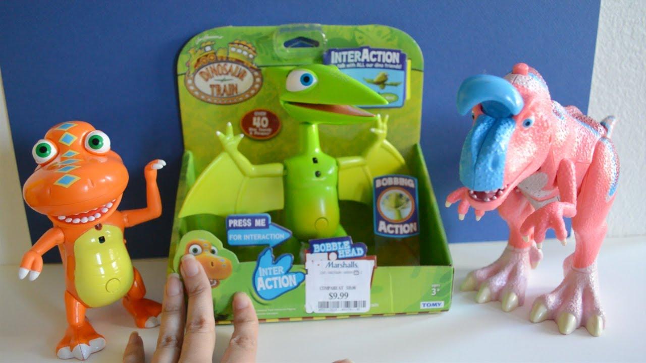 Dinosaur Train toys InterAction Tiny Pteranodon ...