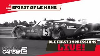 Project CARS 2 - (Stream) - Spirit of Le Mans Impressions (PC)