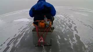 Чудо конь для зимней рыбалки из бензопилы