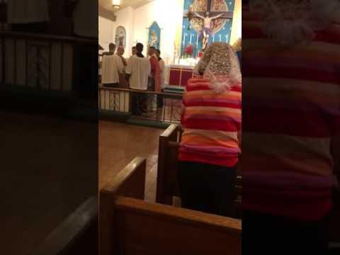Mass at Mater Ecclesiae Church, Berlin, NJ.