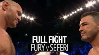 Tyson Fury v Sefer Seferi full fight replay