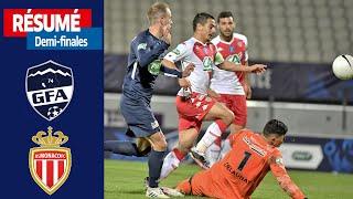 Demi finales GFA Rumilly Vallières AS Monaco 1 5 le résumé I Coupe de France 2020 2021