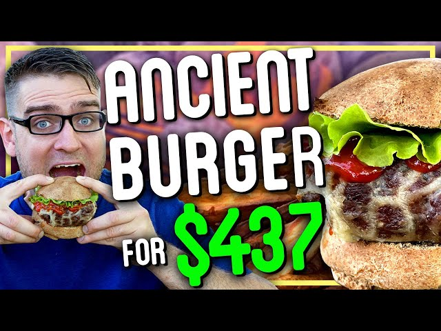 How to Make a Burger That Costs $437
